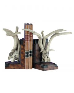 Oklahoma Casting Antler Bookends