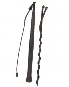 Fleck Lunge Whip with Ergonomic Handle and Separate Lash