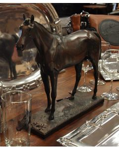 Thoroughbred Horse Statue