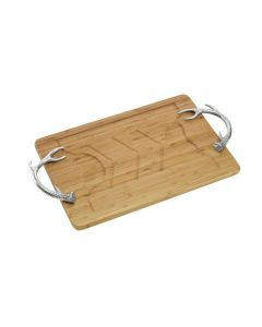 Arthur Court Wooden Antler Carving Board