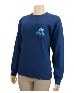 Adult Tack Room Comfort T-Shirt with Pocket and Long Sleeves