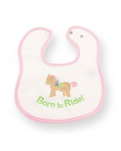 Born To Ride Baby Bib