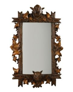 Oklahoma Casting Fox and Hound Maple Bevel Mirror