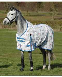 Weatherbeeta Comfitec Essential Mesh II Standard Neck Fly Sheet with Print