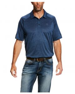 Ariat Mens Charger Short Sleeve Polo