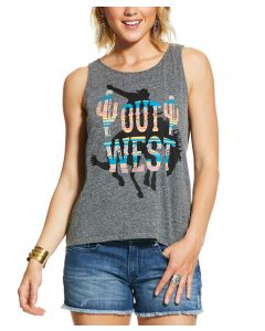 Ariat Ladies Out West Tank Top