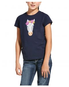 Ariat Youth Flower Crown Short Sleeve T-Shirt