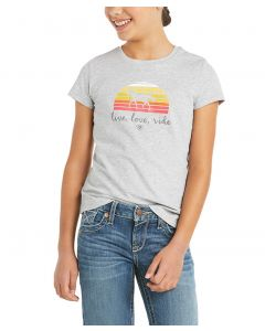 Ariat Youth Live Love Ride Short Sleeve Tee