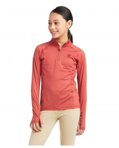 Ariat Youth Lowell 2.0 1/4 Zip Baselayer Solid Shirt
