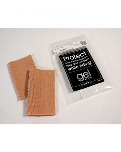 "Beige 3"" x 5"" Gel Bands 2-Pack"