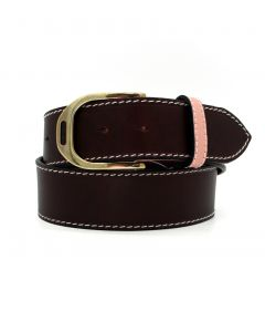 "Lilo Estribo Grande Stirrup Buckle 1.5"" Belt"