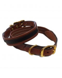 Tory Padded Dog Collar, 1""