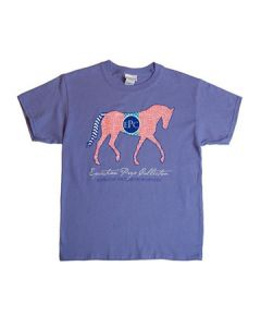 Equestrian Prep Youth Crew Neck Tee