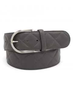 """Tailored Sportsman Quilted """"C"""" Belt"""