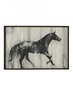 36 x 24 Running Horse Wall Decor