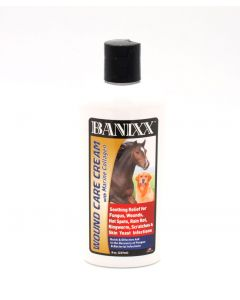 Banixx Wound Care Cream with Marine Collagen 8oz