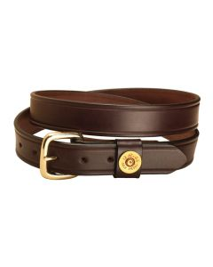 "Tory Shot Shell 1.25"" Leather Belt"
