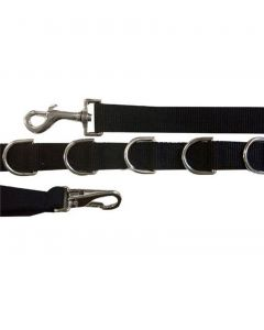 Intrepid Nylon Side Reins With Elastic and Dees