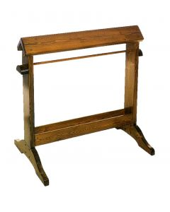 Horse Fare Wooden Saddle Stand