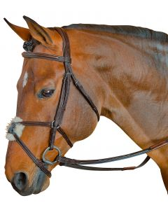 Toulouse Fancy Raised Padded Figure 8 Bridle