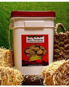 Mrs. Pastures Cookies for Horses 15lb Bucket