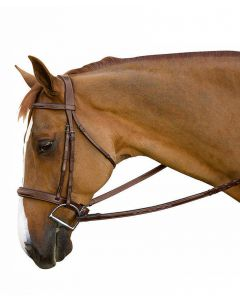 Toulouse Brunello Handy Hunter Fancy Raised Stitched Bridle