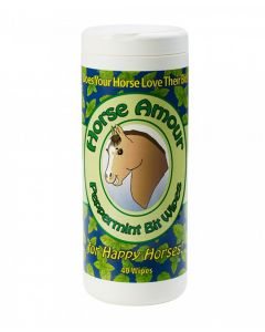 Horse Amour Bit Wipes - 40 Count