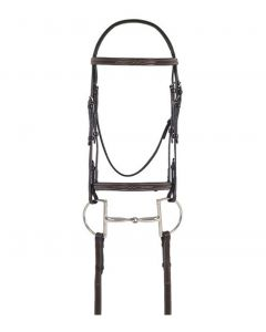 Ovation Fancy Raised Comfort Crown Padded Bridle