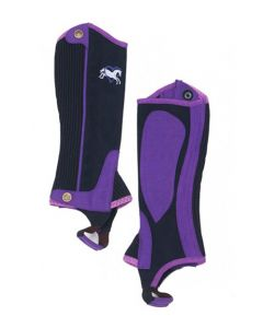 Childs Ovation Heart & Horse Half Chaps