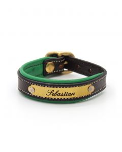 Padded Bracelet With Buckle
