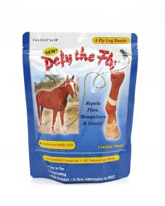 Defy the Fly Horse Leg Bands set of 4