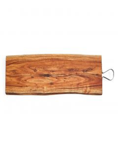Two's Company Serving Boards With Iron Handle