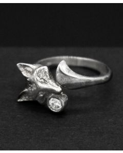 Fox with Tail Ring