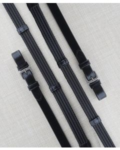 KL Extra Long Select Special Grip Reins with Buckle & Stops