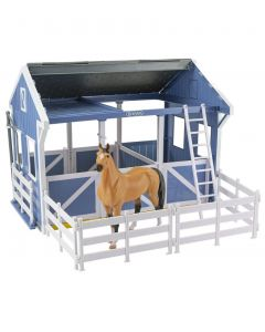Breyer Deluxe Country Stable and Horse