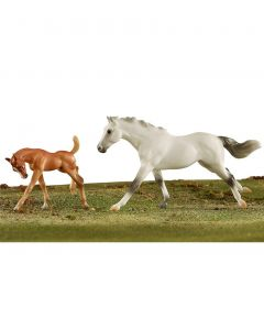 Breyer Racing the Wind, Thoroughbred Horse and Foal
