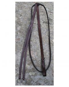 Red Barn Fancy Round Raised Running Martingale
