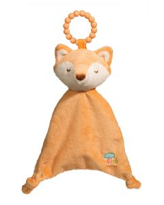 Shy Fox Lil' Sshlumpie Teether Blankie