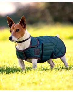 Digby and Fox Quilted Dog Coat