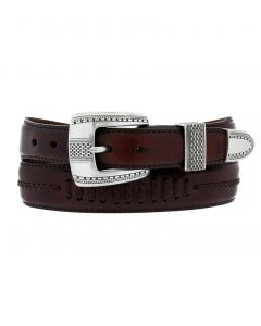 Brighton Salina Taper Leather Belt
