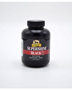 SuperShine Black Hoof Polish 8oz