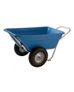 "Smart Cart Yard Cart 7 cu/ft w/16"" Turf Wheels"