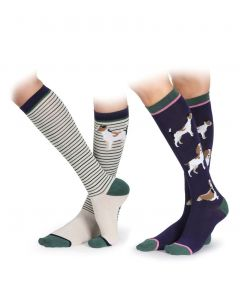 Shires Revive Bamboo Sock 2-Pack