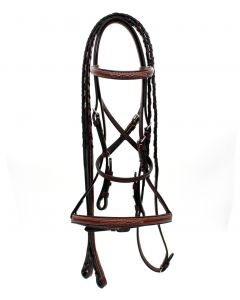 Americana Fancy Raised Bridle with Reins