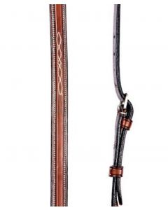 Americana Fancy Square Raised Martingale