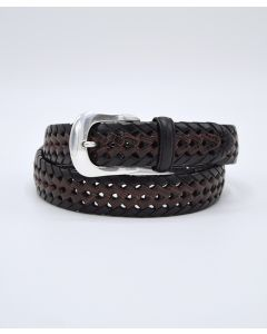 Brighton Burma Woven Leather Belt