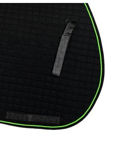 PRI Cotton Quilted Saddle Pad with Piping