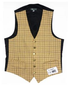 RJ Classics Mens Cheshire Tattersall Hunt Vest