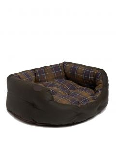 Barbour Wax Cotton Dog Bed 30 Inch