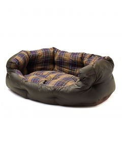 Barbour Wax/Cotton Dog Bed, 35 inch